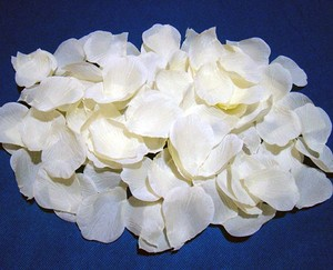 Ivory 1000x Silk Rose Petal Centerpieces Aisle Runner Flower Girl Basket