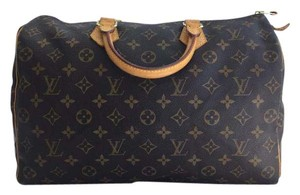 Louis Vuitton Canvas Satchel in Monogram