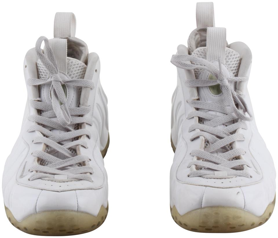 online retailer 538d7 e37ce Nike Air Whiteout Mens Basketball White Silver Metalic White Athletic Image  0 ...