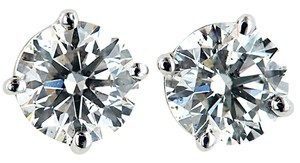 ABC Jewelry Brilliant Cut Earrings