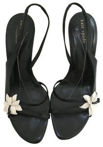 Kate Spade Pre-owned Very Good Condition Some Wear Black Sandals