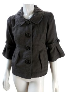 Apt. 9 Lined Light 3/4 Sleeve Brown Jacket