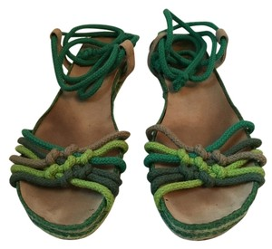 Marc Jacobs Pre-owned Good Condition Green Sandals