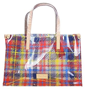 Dooney & Bourke Logo Large Chatham Multi Clear Tote in Multicolor