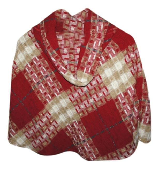 Preload https://img-static.tradesy.com/item/1351123/burberry-multiple-red-gold-white-gray-ponchocape-size-os-one-size-0-0-650-650.jpg