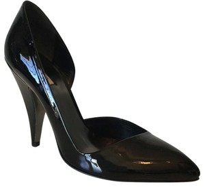 Miu Miu Black Patent Leather Pumps