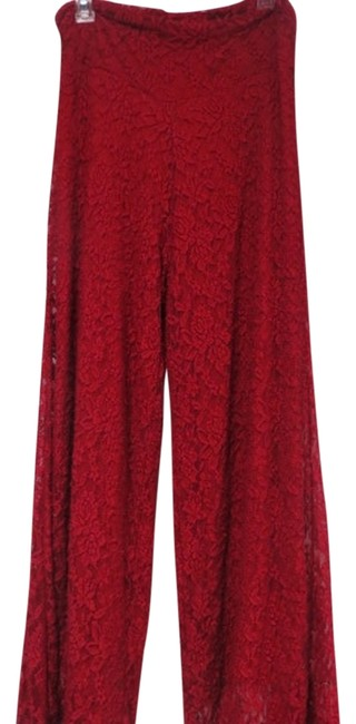 Preload https://item1.tradesy.com/images/crimson-red-flared-pants-size-14-l-34-1351235-0-0.jpg?width=400&height=650