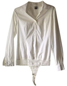 Moda International Top White