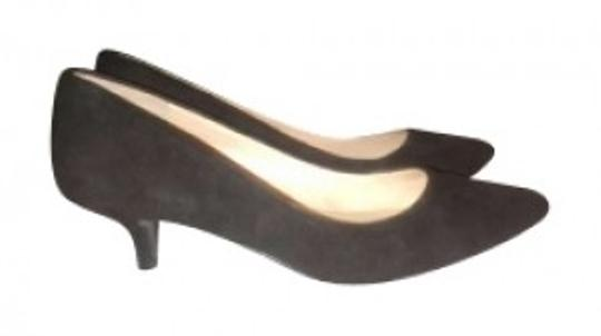 Nine West Black Suede Pumps
