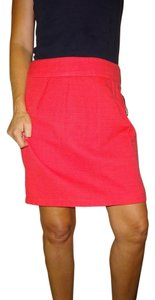 Mossimo Supply Co. Work Career Skirt Siren Red