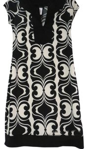 B. Smart short dress black and ivory on Tradesy
