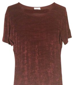 Miley Cyrus & Max Azria Top burgundy