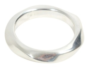 Sterling Silver .925 Abstract Bangle Cuff Bracelet