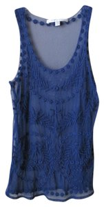 LC Lauren Conrad Top Blue