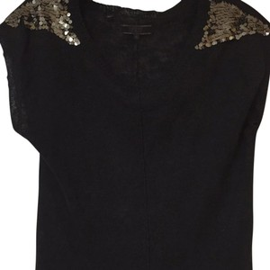 Guess Top Black with silver sequin