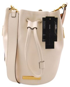 Marc Jacobs Drawstring Leather Cross Body Bag