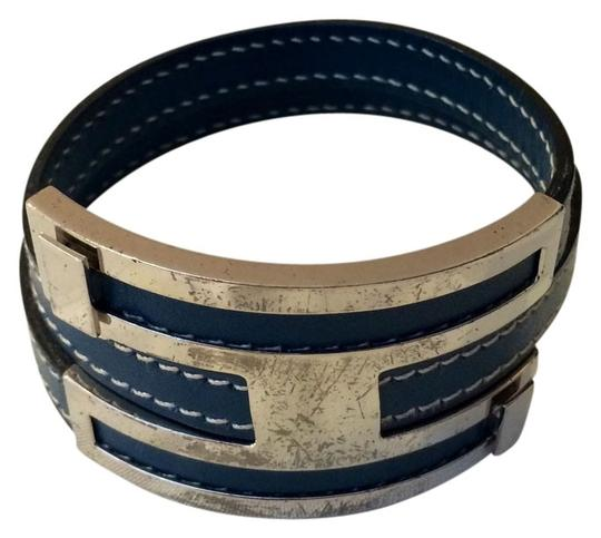 Preload https://item4.tradesy.com/images/hermes-blue-rare-pousse-pousse-and-palladium-plated-bracelet-1351443-0-0.jpg?width=440&height=440