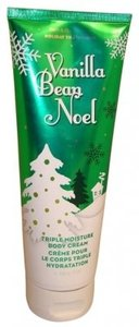 Bath and Body Works Vanilla Bean noel triple body cream 8 oz