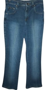 Riders by Lee Size 10 Comfortable Boot Cut Jeans-Medium Wash