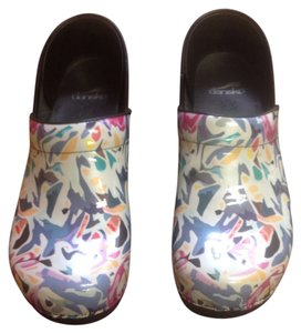 Dansko Multi Color Mules