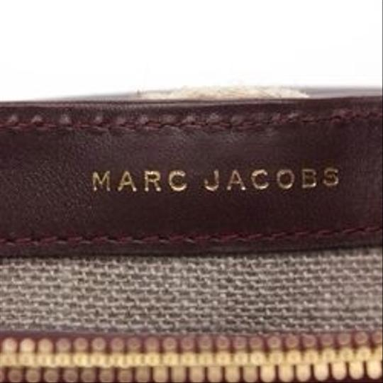 Marc Jacobs Leather Gold Chain Acrylic Brooch Cross Body Bag