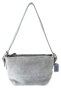 Coach Suede/leather Shoulder Bag