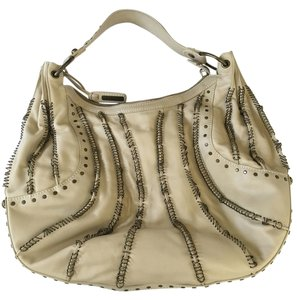 Isabella Fiore Hardware Studded Shoulder Bag