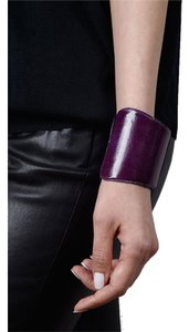 Condemned to Be Free Genuine Snakeskin Asymmetrical Cuff