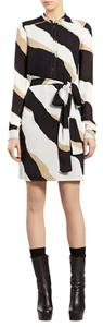 Gucci short dress Black White Tan on Tradesy