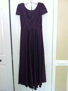 Alfred Angelo Purple Dress