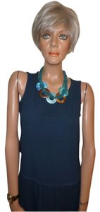 Eileen Fisher Top Teal Blue