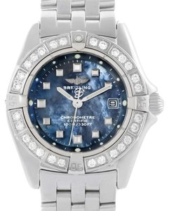 Breitling Breitling Callisto Ladies Blue Mother of Pearl Diamond Watch A72345