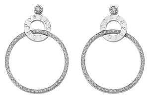 Piaget Piaget 18K White Gold Diamond Earrings G38PX700