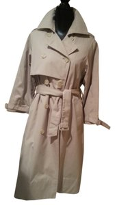 London Fog Trench Traditional Tan Trench Coat