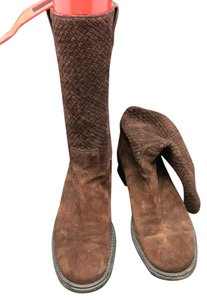Stephane Kelian Suede Medium Height brown Boots