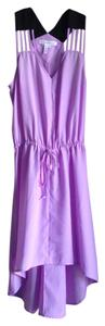 BCBGeneration short dress Purple on Tradesy
