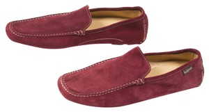 Russell & Bromley Maroon Flats