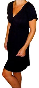 Daisy Fuentes short dress Black Date on Tradesy