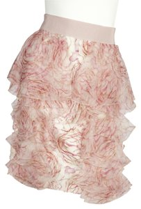 Giambattista Valli Mini Skirt Pink