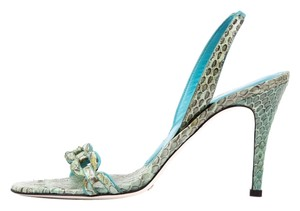 Dolce&Gabbana Mint Green Sandals