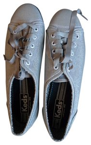 Keds Rally Sparkle Fashion Silver Athletic