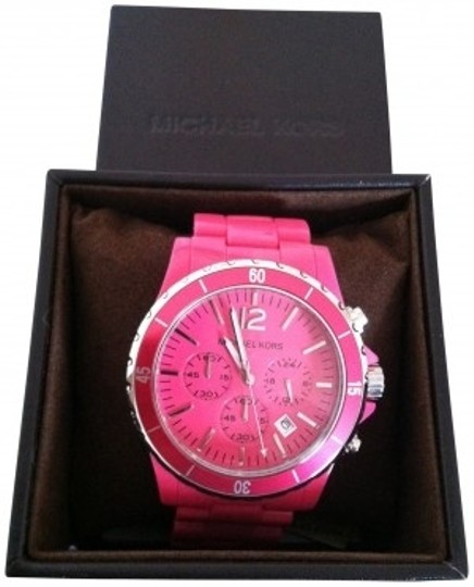 Preload https://item1.tradesy.com/images/michael-kors-pink-mk5272-women-s-acrylic-watch-135210-0-0.jpg?width=440&height=440