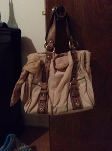 Juicy Couture Satchel in Tan
