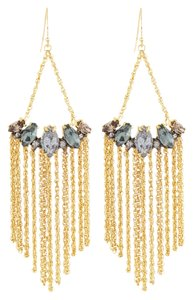 Alexis Bittar Alexis Bittar Navette Fringe Chandelier Earrings
