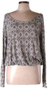 Free People Draped Back Top