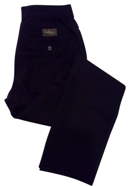 Calvin Klein Boot Cut Pants Black