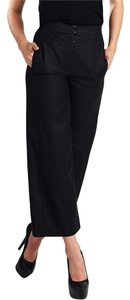 Chanel 175639 Wide Leg Pants Gray