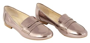 Tahari Loafers Pewter Flats