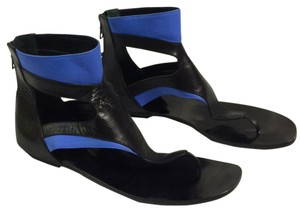 Omoni stockholm Black blue Sandals
