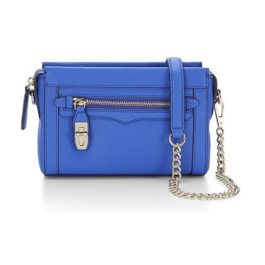 Rebecca Minkoff Crosby Ultraviolet Leather Cross Body Bag